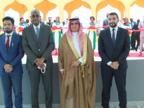 DPFZA Chairman received the Ambassador of the KSA in DJibouti